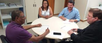 O Prefeito Domingos Paiva assinou convênio  no valor de R$ 100.000,00