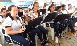 Apresentação da Corporação Musical Nª Sª das Graças